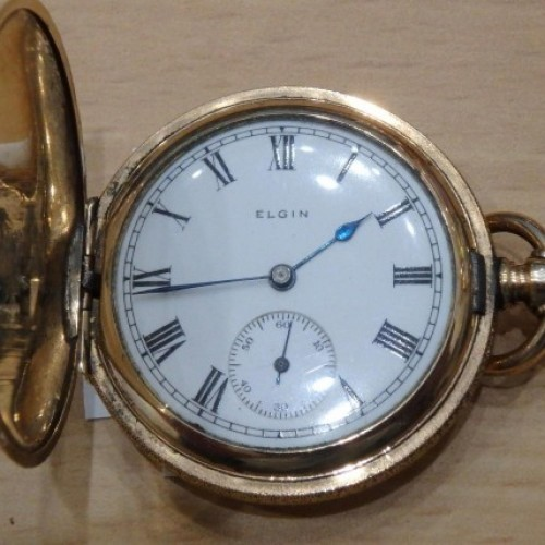 Elgin Grade 298 Pocket Watch Image