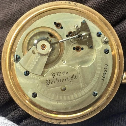 Rockford Grade 83 Pocket Watch