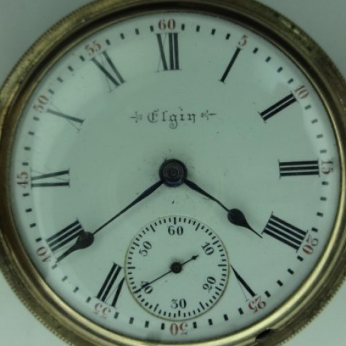 Elgin Grade 249 Pocket Watch Image