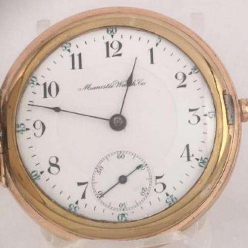 Manistee Watch Co. Grade  Pocket Watch Image