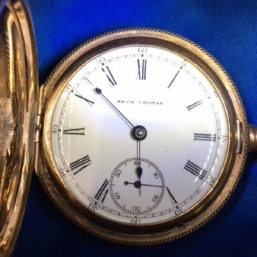 Seth Thomas Grade 107 Pocket Watch Image