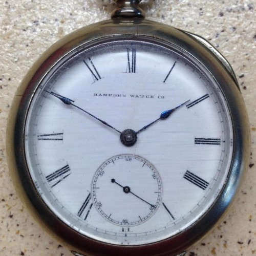 Image of Hampden No. 71 #78029 Dial