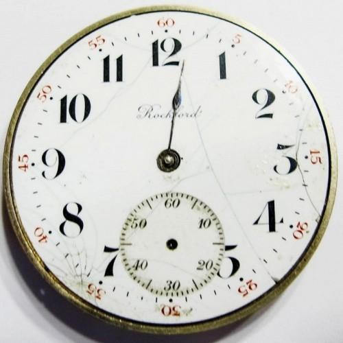 Rockford Grade 390 Pocket Watch Image