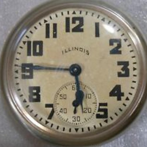 Illinois Grade 183 Pocket Watch