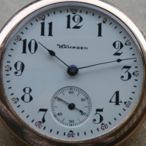 Hampden Grade No. 10 Pocket Watch Image