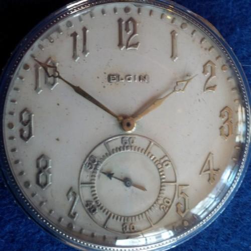 Elgin Grade 452 Pocket Watch Image