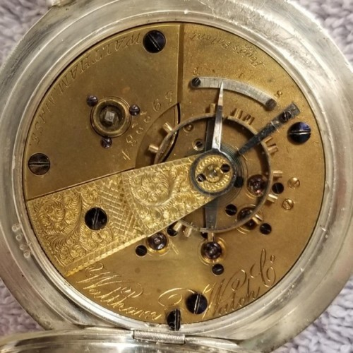 Waltham Grade W.W.Co. Pocket Watch Image