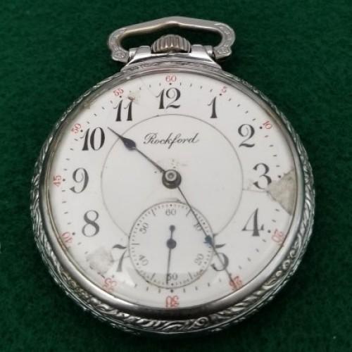 Rockford Grade 573 Pocket Watch Image