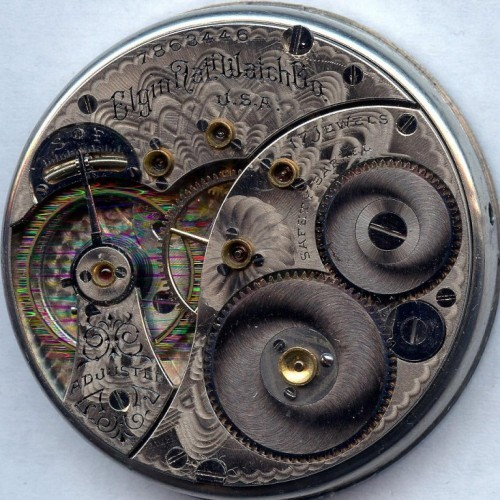 Elgin Grade 188 Pocket Watch Image