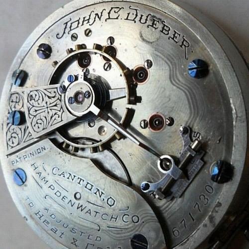 Hampden Grade John C. Dueber Pocket Watch Image