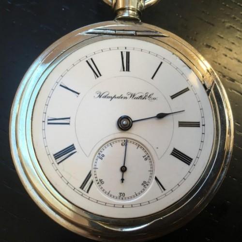 Hampden Grade No. 66 Pocket Watch Image