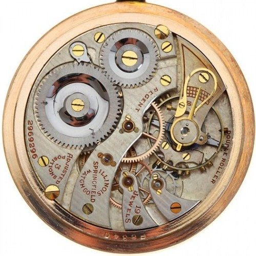 Illinois Grade 306 Pocket Watch Image