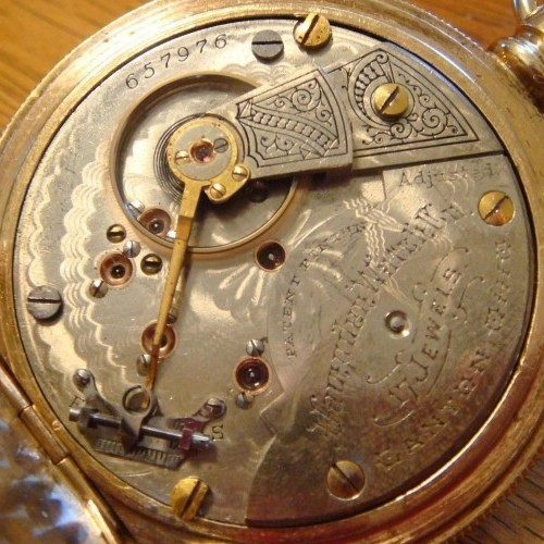 Hampden Grade No. 68 Pocket Watch Image