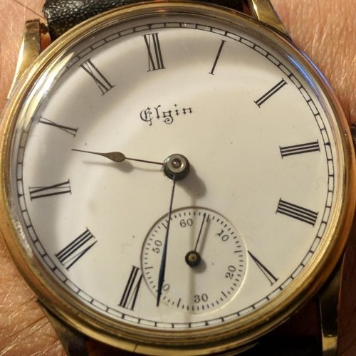 Elgin Grade 130 Pocket Watch Image