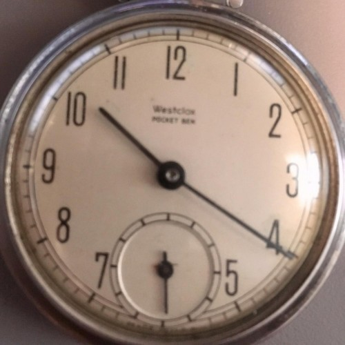 Image of Westclox Pocket Ben #NONE Dial