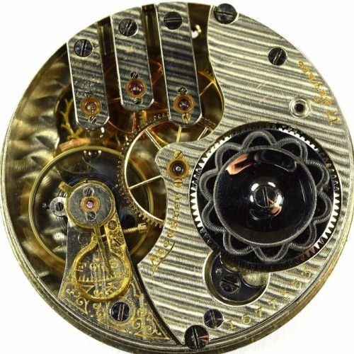 Illinois Grade 186 Pocket Watch Image
