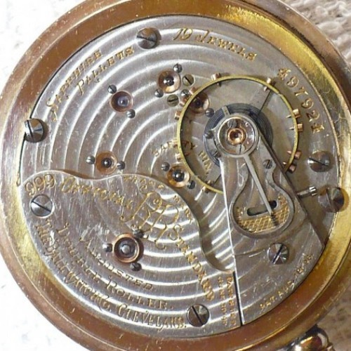 Ball - Hamilton Grade 999G Pocket Watch Image