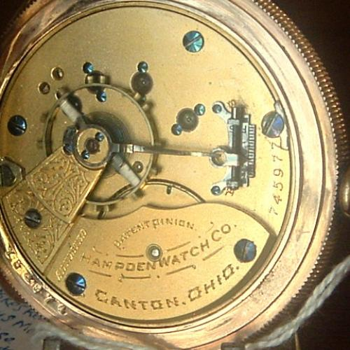 Hampden Grade No. 49 Pocket Watch Image