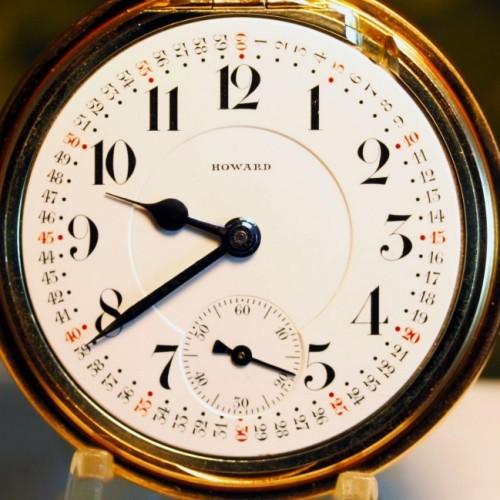 Image of E. Howard Watch Co. (Keystone) Series 4 #982293 Dial
