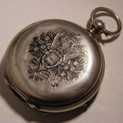 Longines Grade Paul Buhre private label Pocket Watch Image