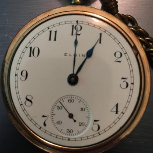 Elgin Grade 73 Pocket Watch Image