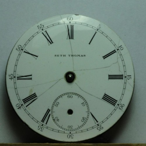 Seth Thomas Grade 107 Pocket Watch Image