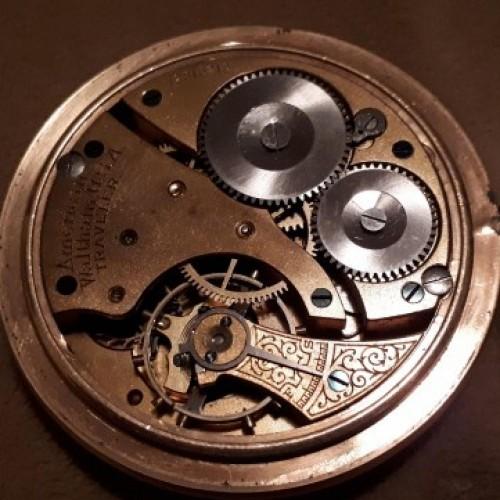Waltham Grade Traveler Pocket Watch Image