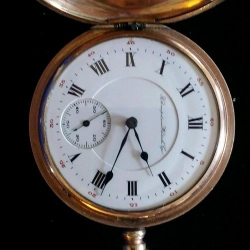 Hampden Grade Wm. McKinley Pocket Watch Image
