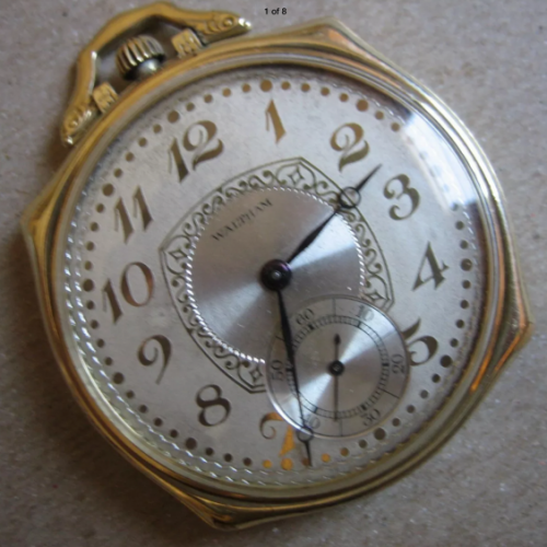 Waltham Grade No. 1235 Pocket Watch Image