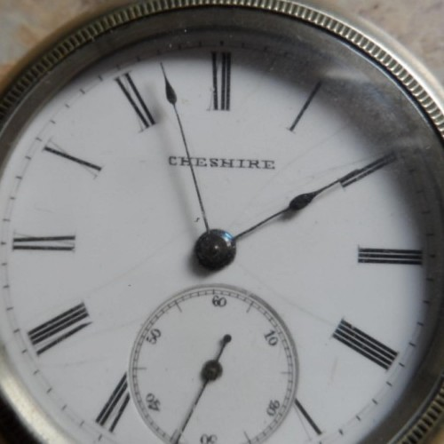 Cheshire Watch Co. Grade  Pocket Watch Image