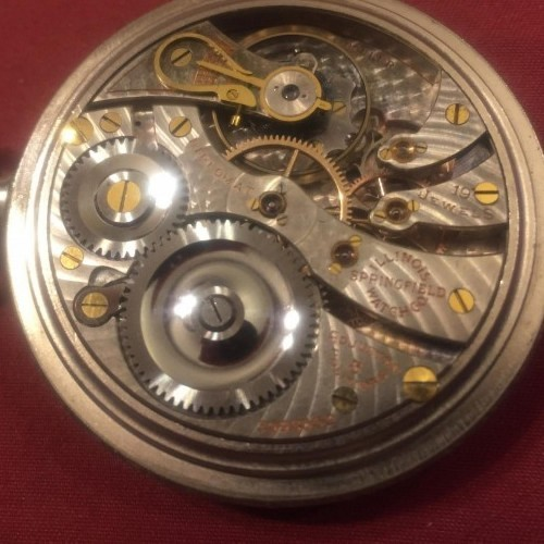 Illinois Grade 306 Pocket Watch Image