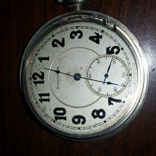 Burlington Watch Co. Grade 108 Pocket Watch Image