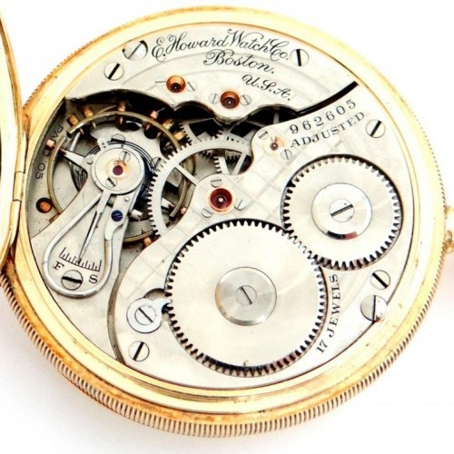 E. Howard Watch Co. (Keystone) Grade Series 4 Pocket Watch Image
