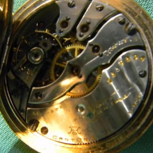 Hampden Grade The Four Hundred Pocket Watch Image