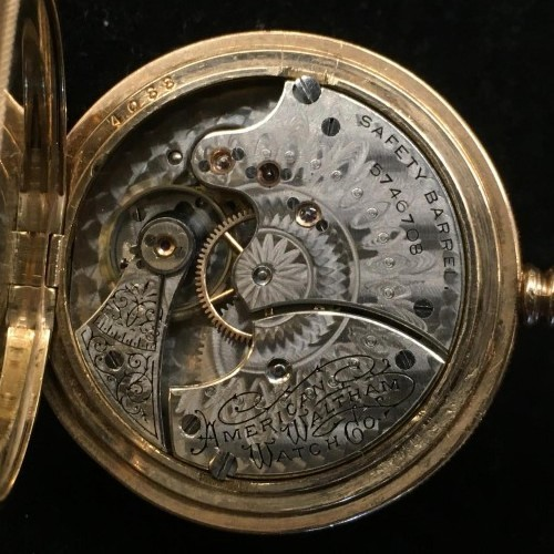 Waltham Grade H Pocket Watch Image