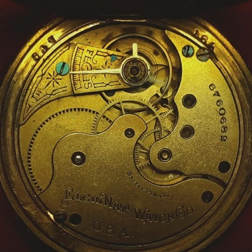 Elgin Grade 114 Pocket Watch Image