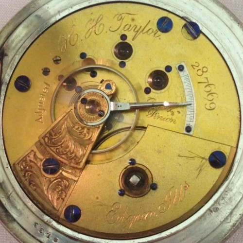 Elgin Grade 58 Pocket Watch Image