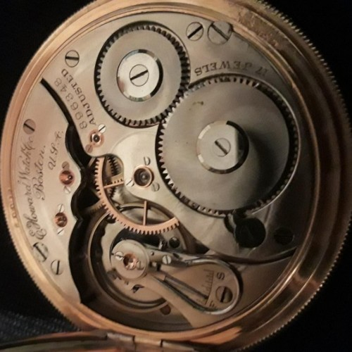 Image of E. Howard Watch Co. (Keystone) Series 3 #896348 Movement