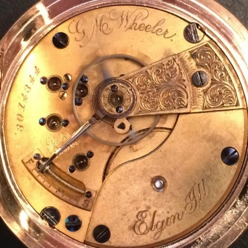 Elgin Grade 75 Pocket Watch Image