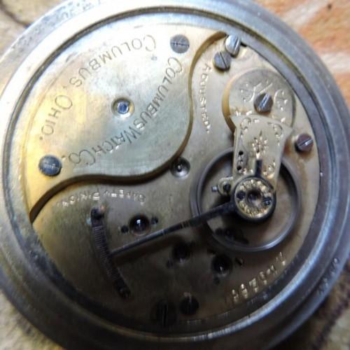 Columbus Watch Co. Grade Champion Pocket Watch Image