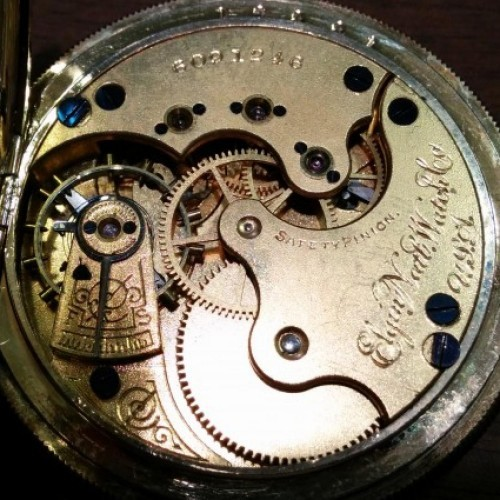 Elgin Grade 132 Pocket Watch Image