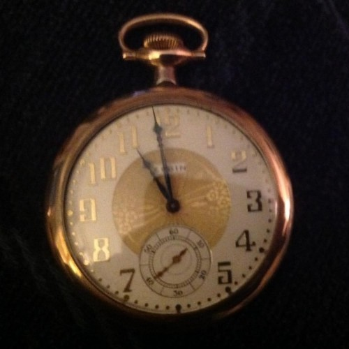 Elgin Grade 303 Pocket Watch Image