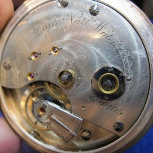 Elgin Grade 46 Pocket Watch Image