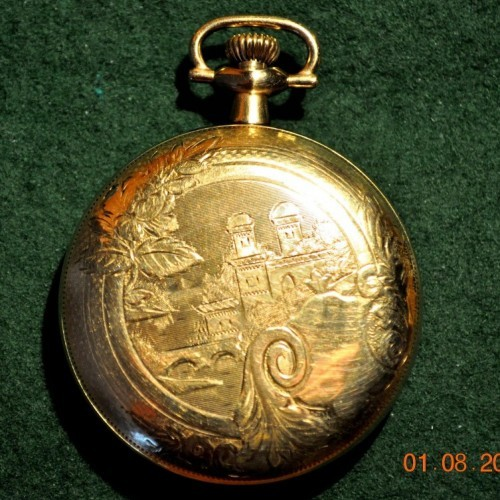 Elgin Grade 340 Pocket Watch Image