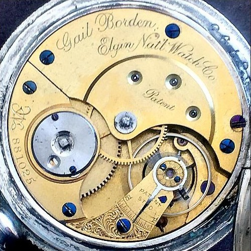 Elgin Grade 22 Pocket Watch Image