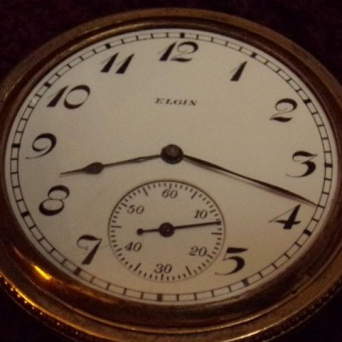 Elgin Grade 253 Pocket Watch Image