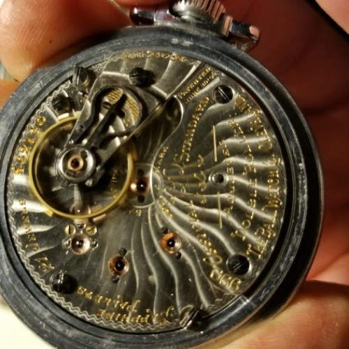 Ball Grade 999A Pocket Watch Image
