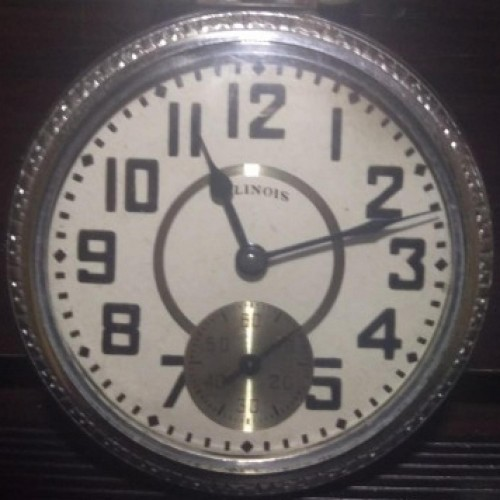Burlington Watch Co. Grade 106 Pocket Watch Image