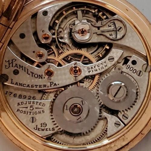 Hamilton Grade 900 Pocket Watch Image