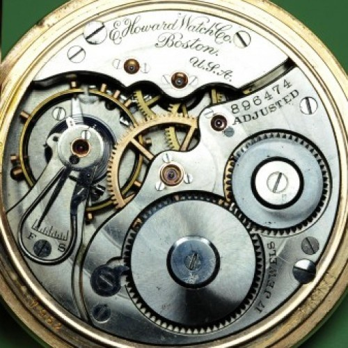 Image of E. Howard Watch Co. (Keystone) Series 3 #896474 Movement